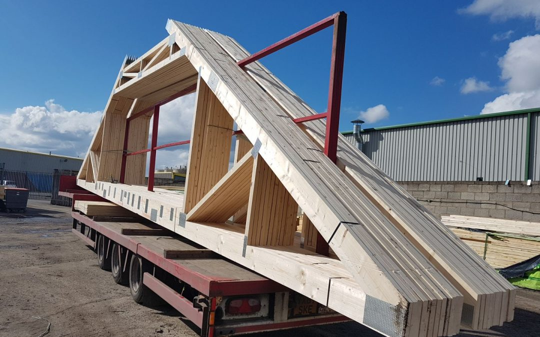 Gigantic Attic Trusses to Fernwood Day Nursery