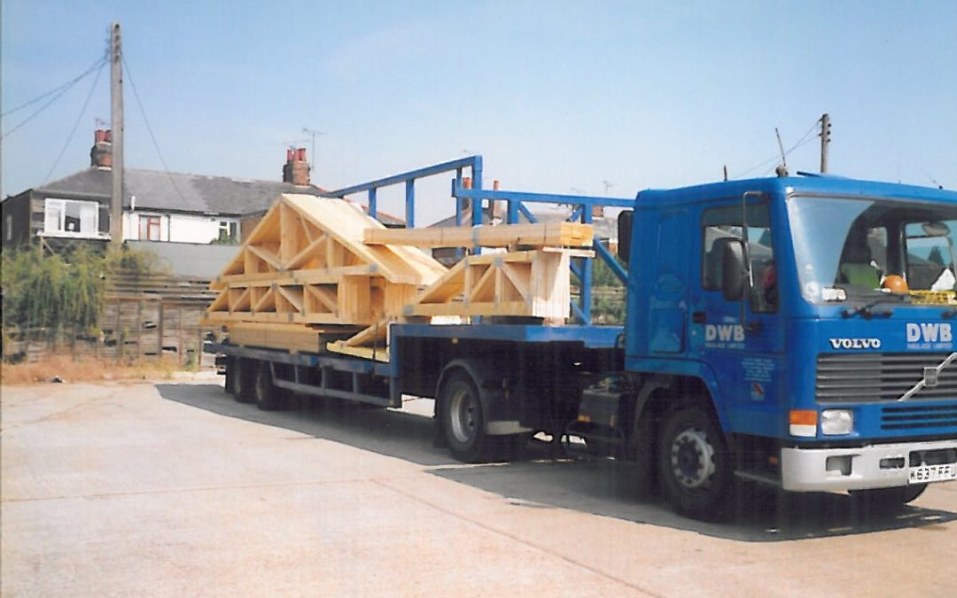 Throwback Friday – DWB Anglia's First Lorry
